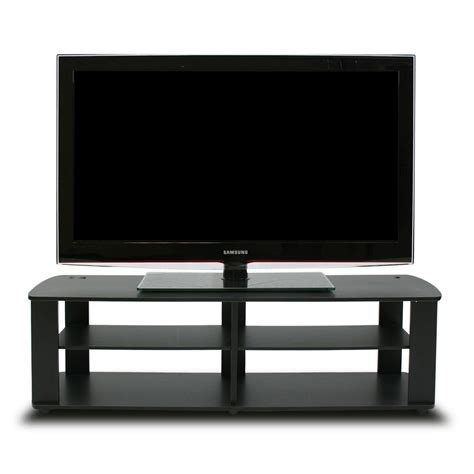 black tv stand entertainment center living room furniture
