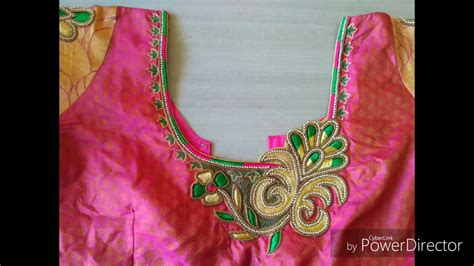 embroidery design in blouse everything you need to know about blouse embroidery designs