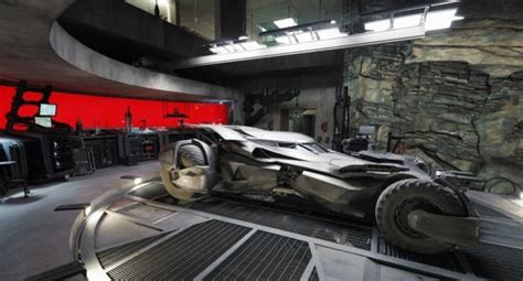 Batcave Garage by Tour The Batcave With Earth