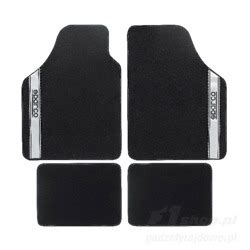 Sparco Floor Mats by Sparco New Strada B Car Mats Black Grey Car