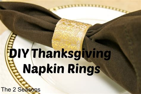 Make Paper Napkin Rings - the 2 seasons the lifestyle