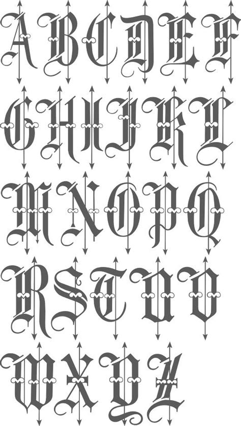 tattoo font english calligraphy de 25 b 228 sta id 233 erna om old english font bara p 229 pinterest