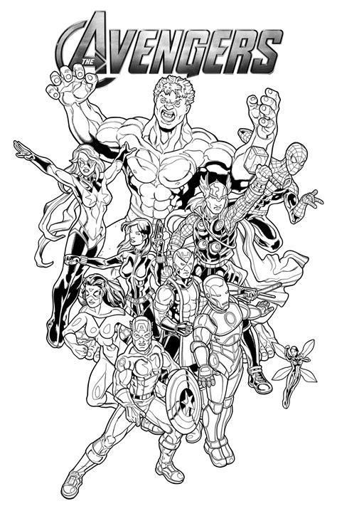 coloriage avengers les beaux dessins de super h 233 ros 224