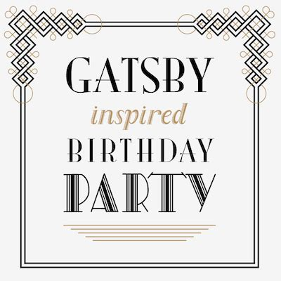 printable gatsby quotes gatsby birthday party collection i heart to party