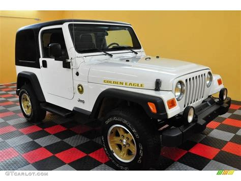 2006 jeep golden eagle 2006 stone white jeep wrangler sport 4x4 golden eagle