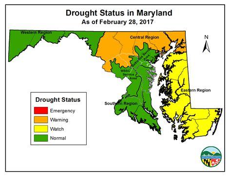 maryland drought map salisbury news 03 10 17
