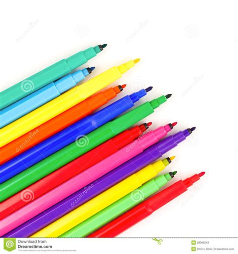 Colored Marker Pen colored marker pens stock photos image 28366243