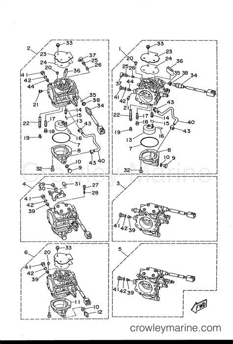 s s 388 carb diagram carburetor 1996 yamaha outboard 225hp s225turu crowley
