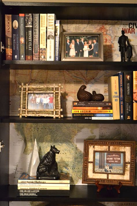 the bookcase map it homejoy