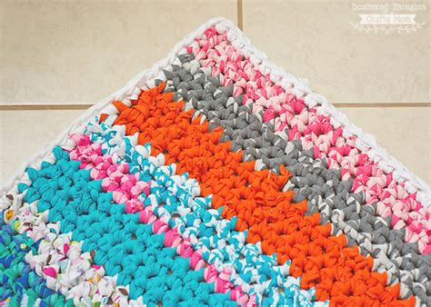 1 in 10 adolescents are using rugs how to crochet a rag rug with fabric scraps scattered