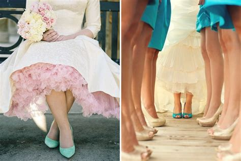 Coloured Wedding Shoes by How To Choose You Wedding Shoes Lace Favour
