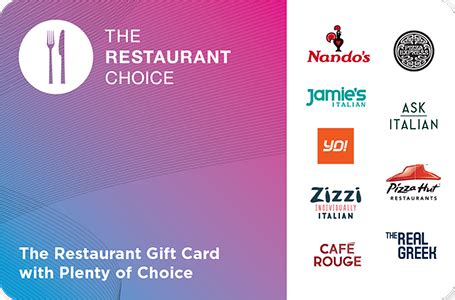 Buy Restaurant Gift Cards - restaurant vouchers gift cards the restaurant choicerestaurant vouchers gift