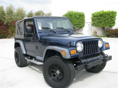 98 Jeep Sport For Sale Find Used 98 Jeep Wrangler Tj Sport 4x4 Solid Frame Many