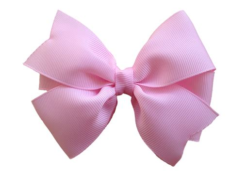 Hairclip Pink 1 4 inch light pink hair bow light pink bow hair bows