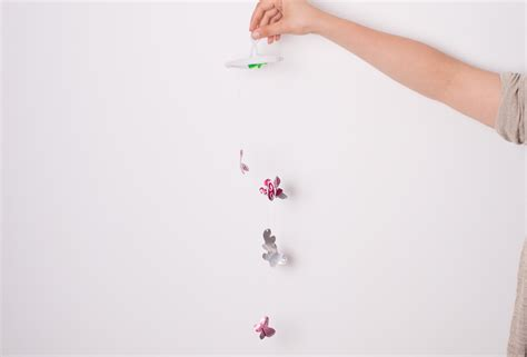 How Do You Make A Butterfly Out Of Paper - how to make butterfly wind chimes 5 steps with pictures