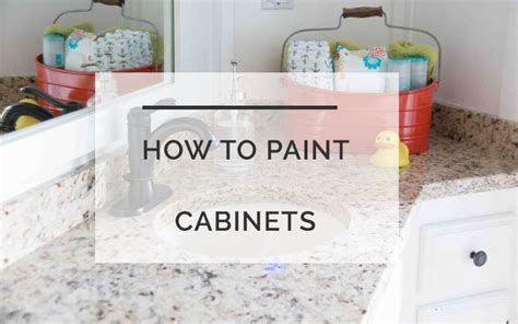 how to paint bathroom cabinets like a pro how to paint cabinets like a pro the secret that makes
