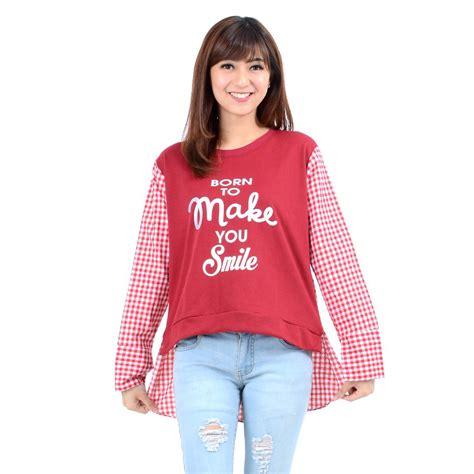 Kaos Murah Merk Rebel8 Warna Navy jual baju kaos wanita murah dksw10 promo diskon 15