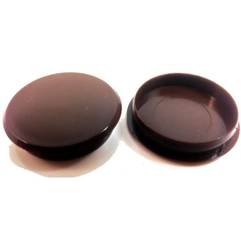 kitchen cabinet end caps 35mm brown plastic hinge hole cover caps for kithcen