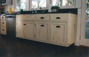 Distressed Wood Kitchen Cabinets Distressed Kitchen Cabinets Casual Cottage