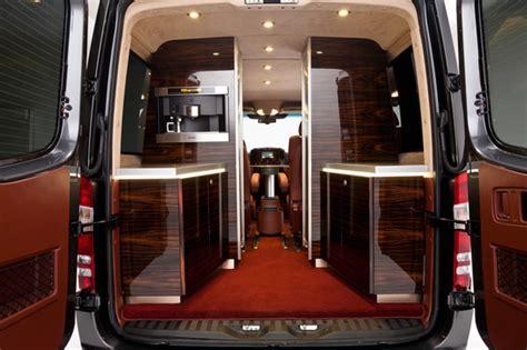Mercedes Sprinter Interior by Hartmann Mercedes Sprinter Gets An Interior Inspired By