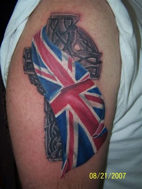 british tattoos designs flag on shoulder 187 ideas