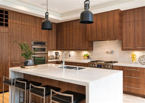 Quartz Countertops Burlington Ontario by Georgiana Design