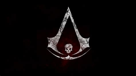 Flag Black assassin s creed black flag logo skull wallpapers hd