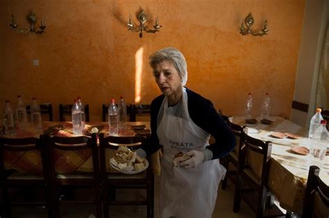 Soup Kitchen International by Greeks Slide Deeper Into Poverty Facts Opinions