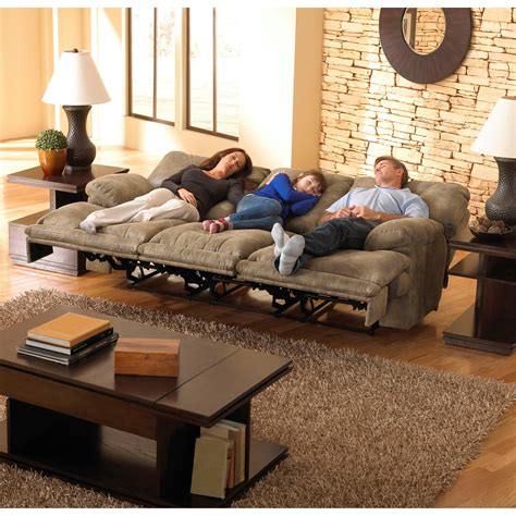 voyager lay flat reclining sofa catnapper voyager power 3 seat quot lay flat quot reclining sofa