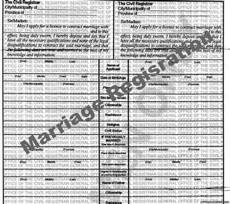 Marriage Records Philippines How To Get Marriage Certificate Records In Cebu