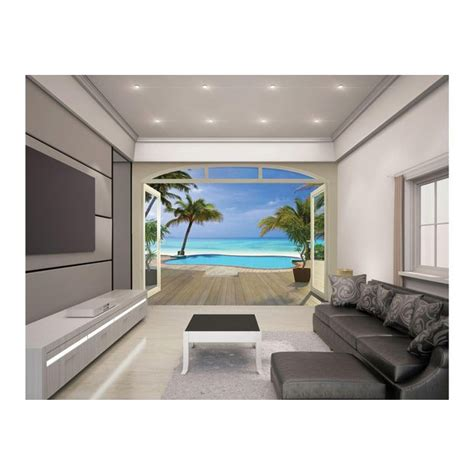 argos wall murals buy walltastic paradise wallpaper mural at argos co uk your shop for murals and