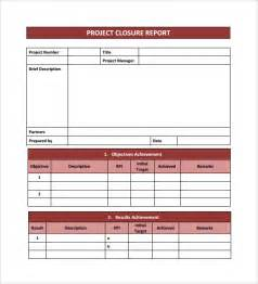 sample project closure template 8 free documents in pdf