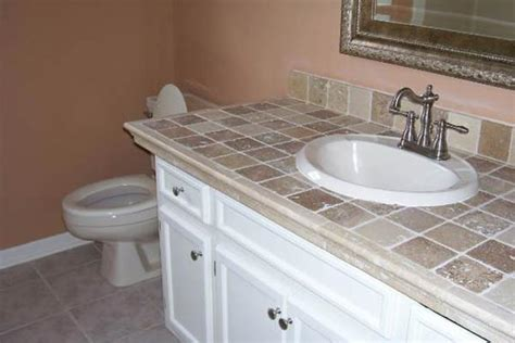 Tile Bathroom Countertops by Bathroom Countertops Liberty Home Solutions Llc