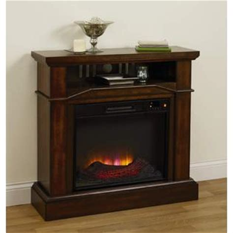 Essential Home Electric Fireplace by Essential Home Telluride Electric Wood Veneer Fireplace