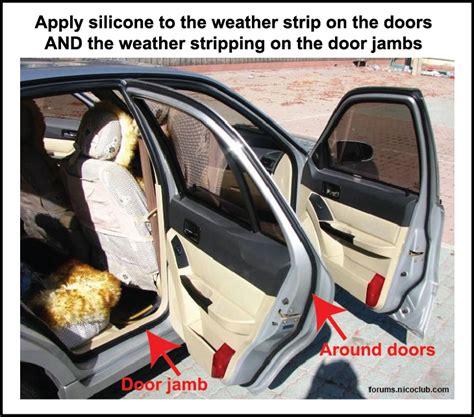 prevent frozen car doors ricks free auto repair advice