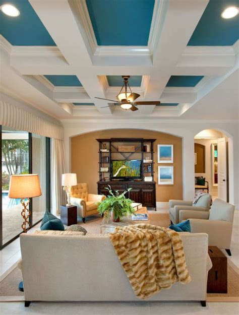 Living Room Ceiling Colors Painting Ceilings Harmonizing Homes