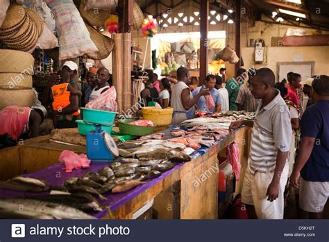 stall hell madagascar nosy be hell ville central market shoppers