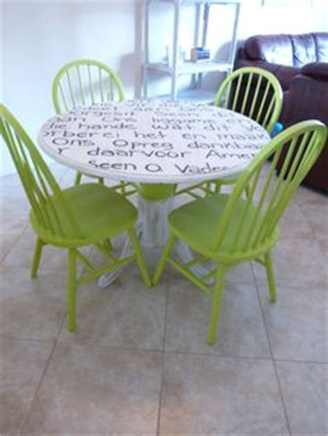 1000  images about Painted tables and chairs on Pinterest