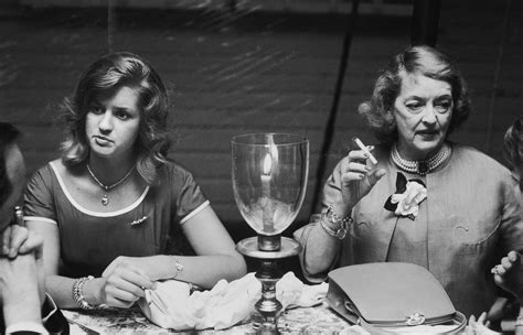 betty davis s daughter how bette davis reacted when told about daughter s