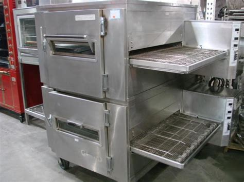 lincoln impinger 1000 deck pizza oven used