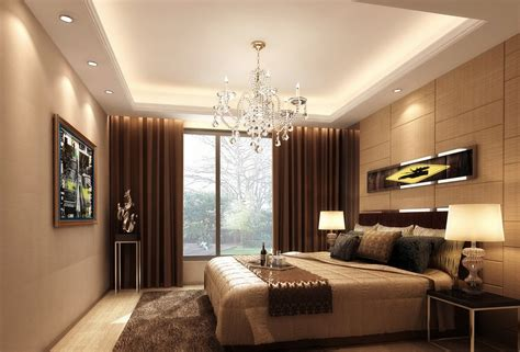 Light Brown Bedroom Light Brown Bedroom European Style 3d House