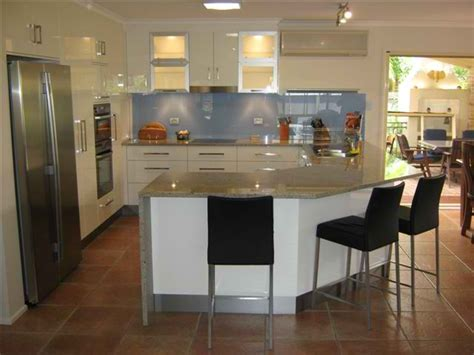 U Shaped Kitchen Design With Island by U Shaped Kitchen Designs U Shape Gallery Kitchens Brisbane