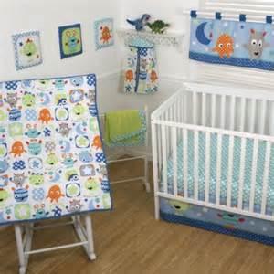 Sumersault monster babies crib bedding collection walmart com