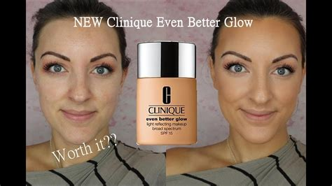 Foundation Clinique Even Better new clinique even better glow foundation review demo