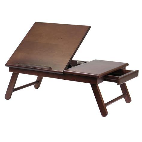best lap desk for amazon com winsome wood alden lap desk flip top with