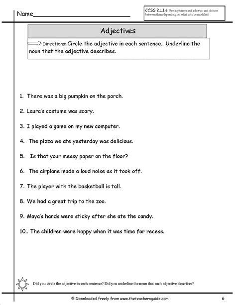 Adjective Noun Verb Worksheet by 28 Underline The Verbs Worksheet 15 Best Images Of
