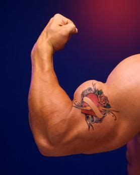 heartbeat tattoo on bicep biceps tattoo images designs