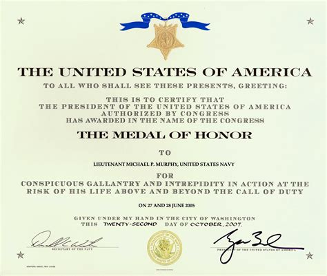 of honor card template medal of honor ribbons