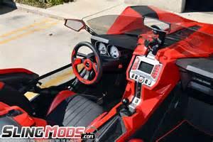 Two Car Garage polaris slingshot pilota series steering wheels by nrg