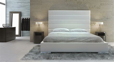 modern padded headboard exquisite leather high end platform bed long beach